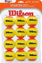 WILSON STARTER ORANGE STAGE 2 (12 BALL) ТЕННИСНЫЕ МЯЧИ