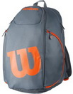 WILSON BURN GREY/ORANGE BACKPACK ТЕННИСНЫЙ РЮКЗАК