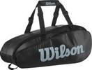 WILSON СУМКА ТЕННИСНАЯ TOUR 2 COMP LARGE (9-PACK) BLACK/GRAY